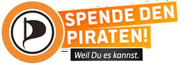 Spende für die Piraten! BTW 2013