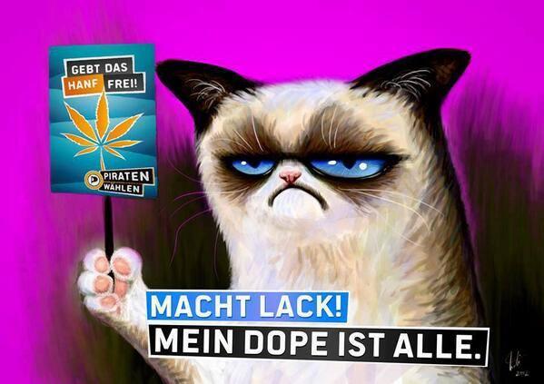 macht lack plakat drogenpolitik cannabis